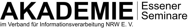 AKADEMIE Essener Seminare im VfI NRW E. V.
